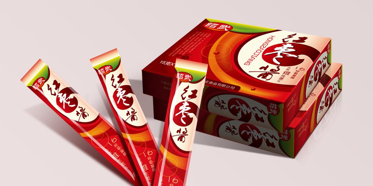 昭武食品|红枣酱包装设计