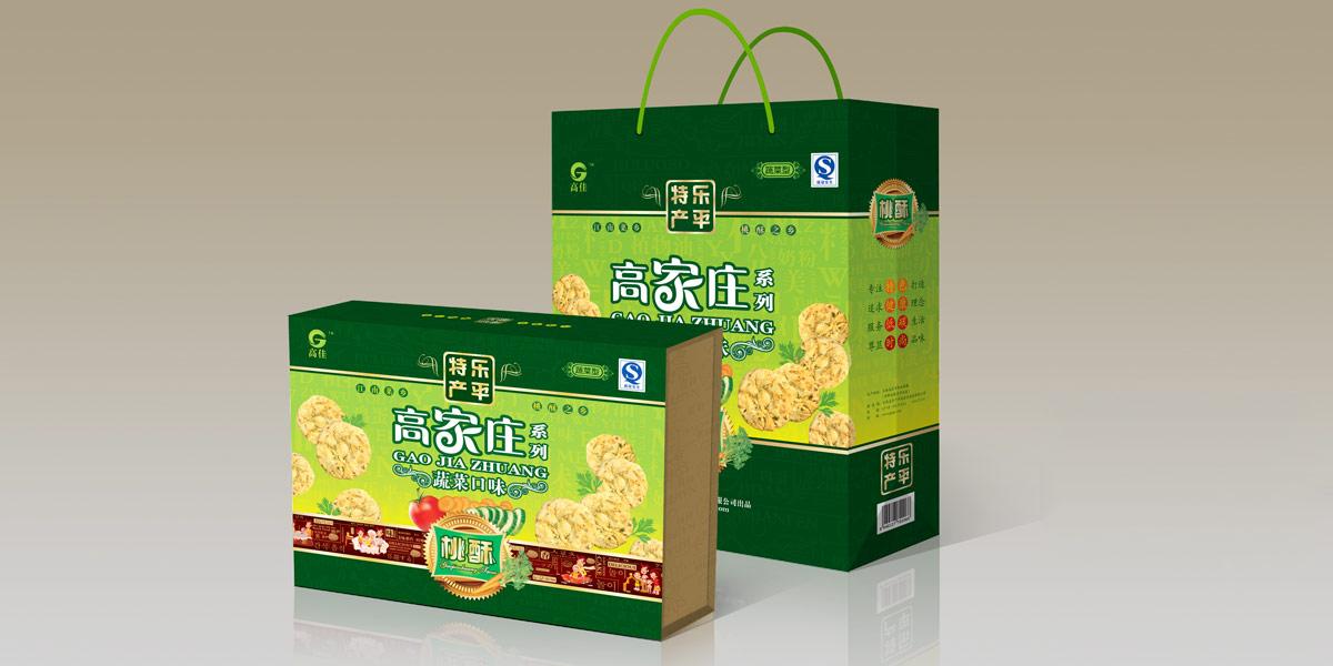 桃酥包装设计,上海糕点包装设计,传统食品包装设计