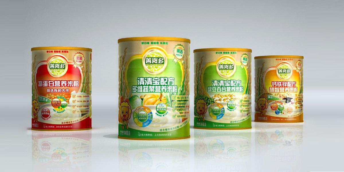 善食多婴儿辅食包装策划设计 品牌标志形象设计 客户:上海联康生物科技有限公司 服务内容:品牌形象设计/系列产品包装策划设计 善食多是上海联康生物科技有限公司旗下品牌,公司是一家集研发、设计、销售、服务为一体的专业婴幼儿辅助食品的大型企业。联康公司坐落于现代化的大都市上海,汇聚了国内外众多优秀管理人才,拥有一批具有国际领先一事的专业研发设计人才和集聚凝聚力的市场营销团队。公司的善食多辅食系列遵循婴幼儿健康理念和成长的特点,传递着父母对宝宝的无限热爱和期待。联康生产基地坐落于江南鱼米之乡的浙江杭州,专业