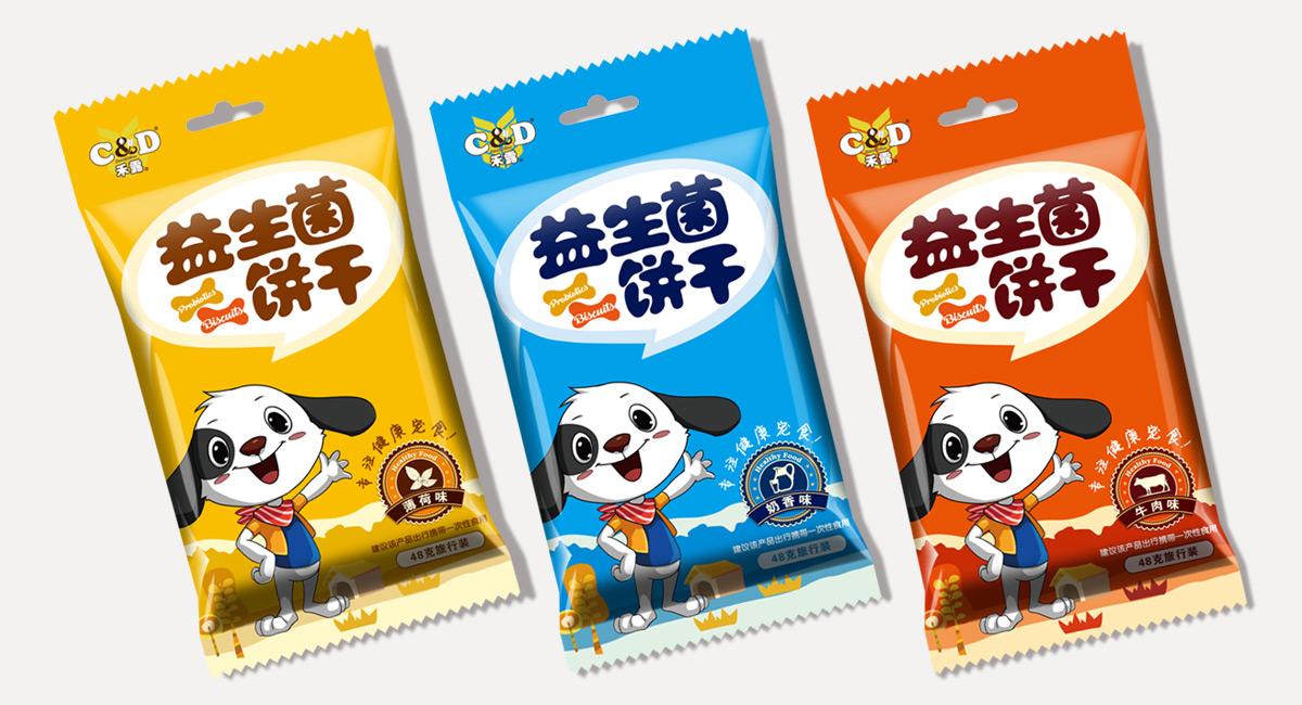 宠物食品包装设计公司,狗粮包装袋设计公司,宠物饼干零食包装设计